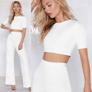 Nasty Gal Settle the Score Crop Top